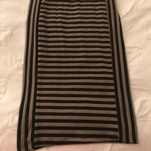 Dresses & Skirts - Striped pencil skirt